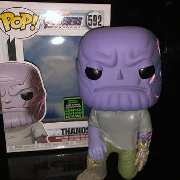 Thanos Gets a New Funko Pop for Emerald City and We Love It!