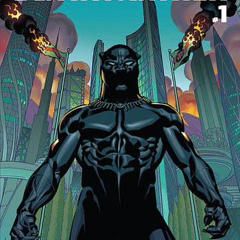 Black Panther #1 Cover by Brian Stelfreeze and Laura Martin