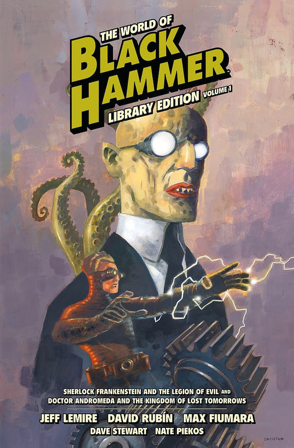 Dark Horse to Publish $50 World of Black Hammer Library Edition Vol. 1 in June