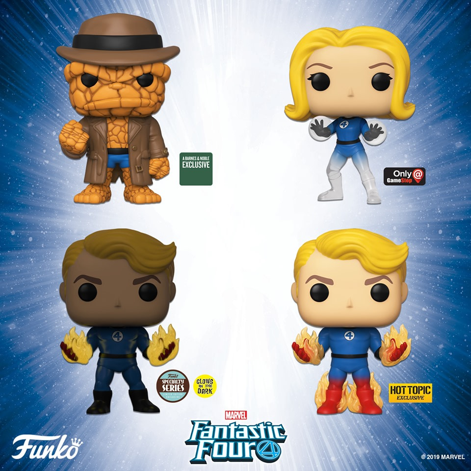 Fantastic Four Collectibles are here from Hasbro, Funko and Sideshow?