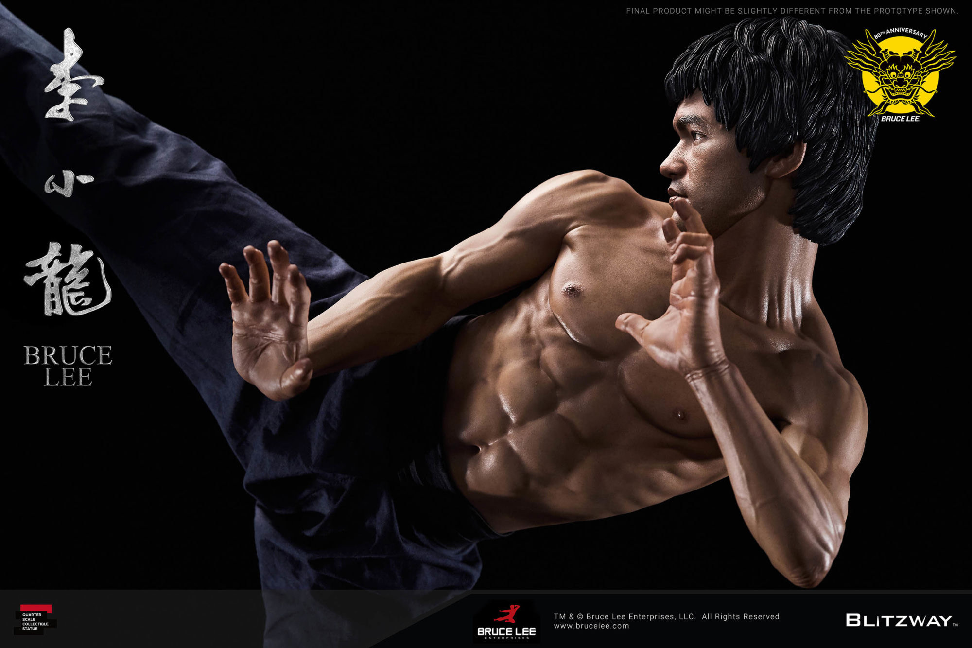 Bruce Lee Gets An 80th-Anniversary Tribute Statue from ...