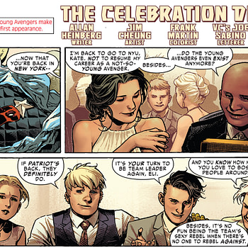 Does Marvel Comics #1000 Suggest a Wedding of Wiccan and Hulkling?