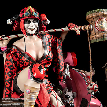 Harley Quinn is a Samurai with New XM Studios Statue