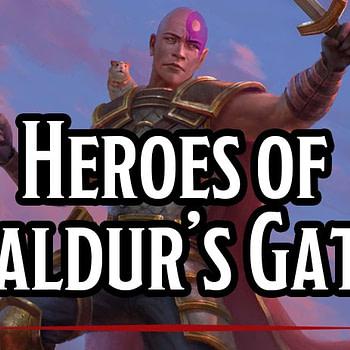 'Heroes of Baldur's Gate' Brings the Classic Digital RPG to Table-Top