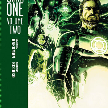 Hal Jordan and John Stewart Team Up in Greeen Lantern: Earth One Vol 2, Summer 2020