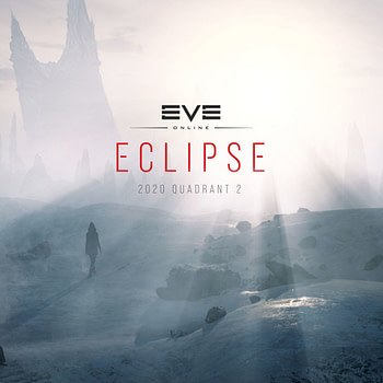 EVE Online Eclipse (2020 Quadrant 2) Key Art