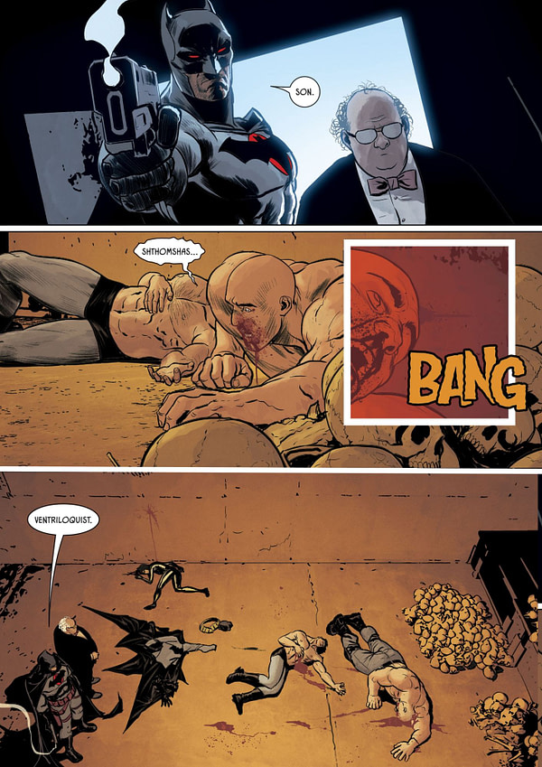 Did Tom King Just Kill Off Kite-Man in Batman #84? Hell Yeah....