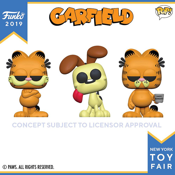 Funko New York Toy Fair Garfield