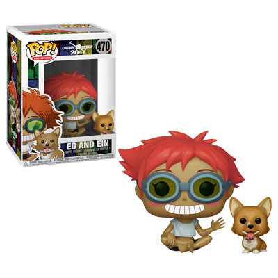 Funko Cowboy Bebop Edward and Ein
