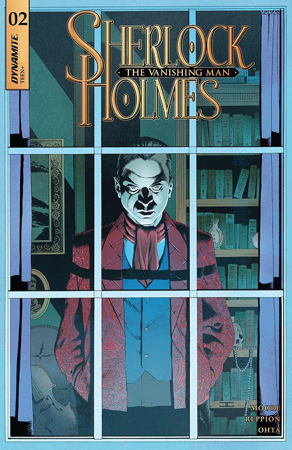Sherlock Holmes: The Vanishing Man #2 cover by John Cassaday and Jose Villarrubia