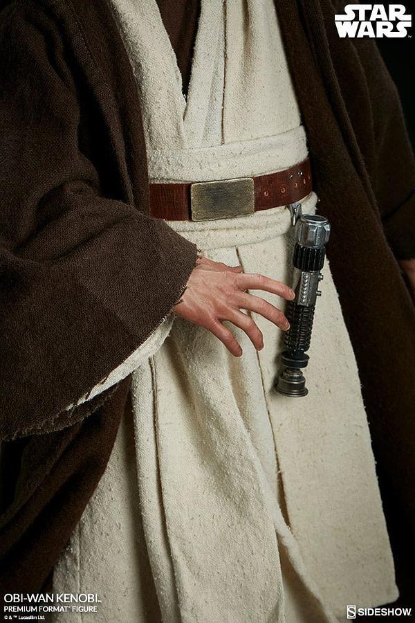 Sideshow Collectibles Star Wars Obi- Wan Kenobi Premium Format Figure 5