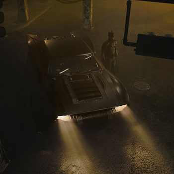 """The Batman"" Director Matt Reeves Shares 3 New Images of the Batmobile"