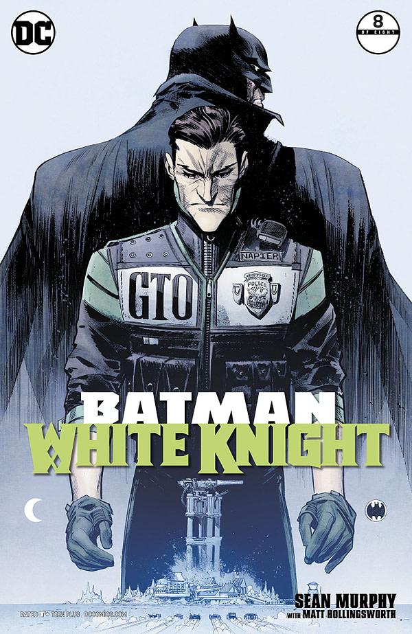 Batman: White Knight #8 cover by Sean Murhpy and Matt Hollingsworth