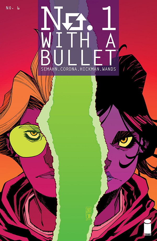 No. 1 with a Bullet #6 cover by Jorge Corona