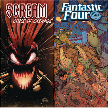 Marvel Changes Artists on Captain America, Fantastic Four, Scream and Valkyrie