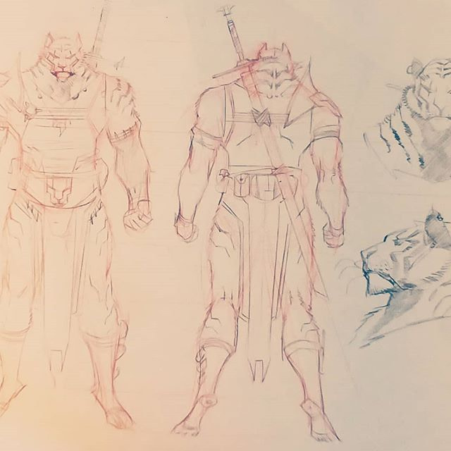 Character Designs from SGM New project