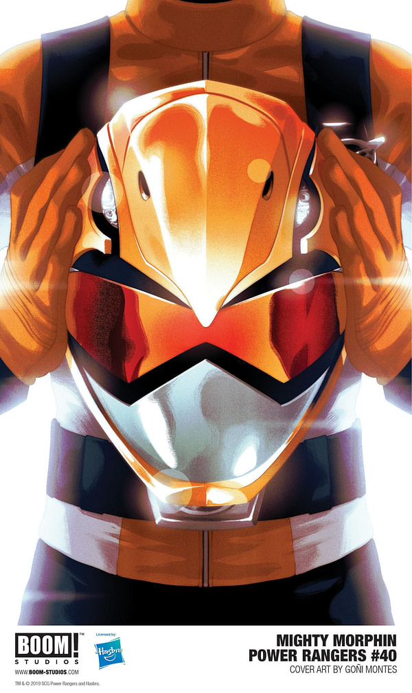 BOOM! Creates New Orange Power Ranger for Make-a-Wish SDCC Variant