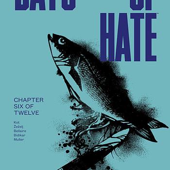 Days of Hate #6 cover by Danijel Zezelj