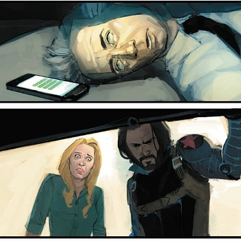 Has Bucky Barnes Turned to the Dark Side? Next Week's Winter Soldier #5