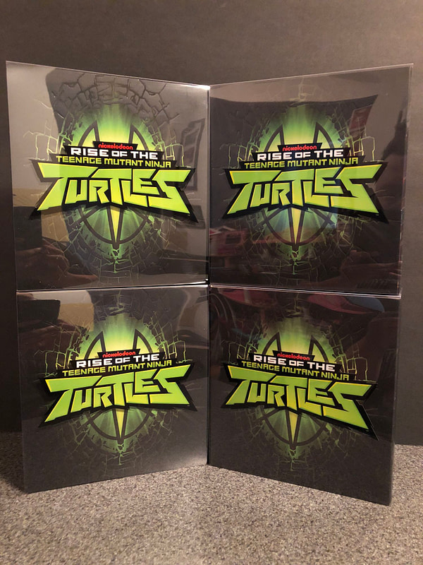 Rise of the TMNT Playmates Figures 1