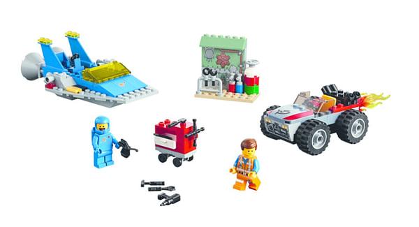 LEGO Movie 2 Emmet and Benny Workshop 2