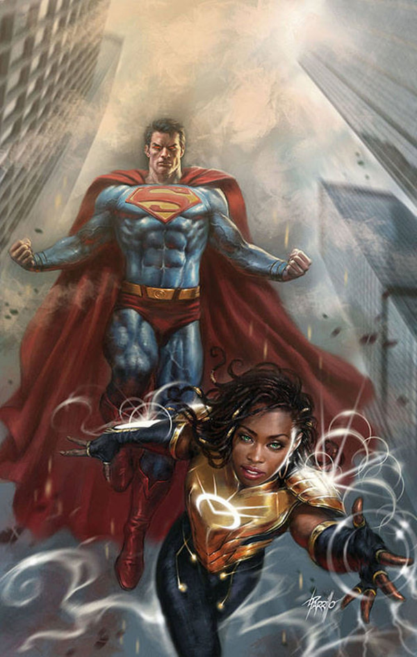 DC Switches Out Gabriele Del'Otto Superman Cover to One With Naomi On It