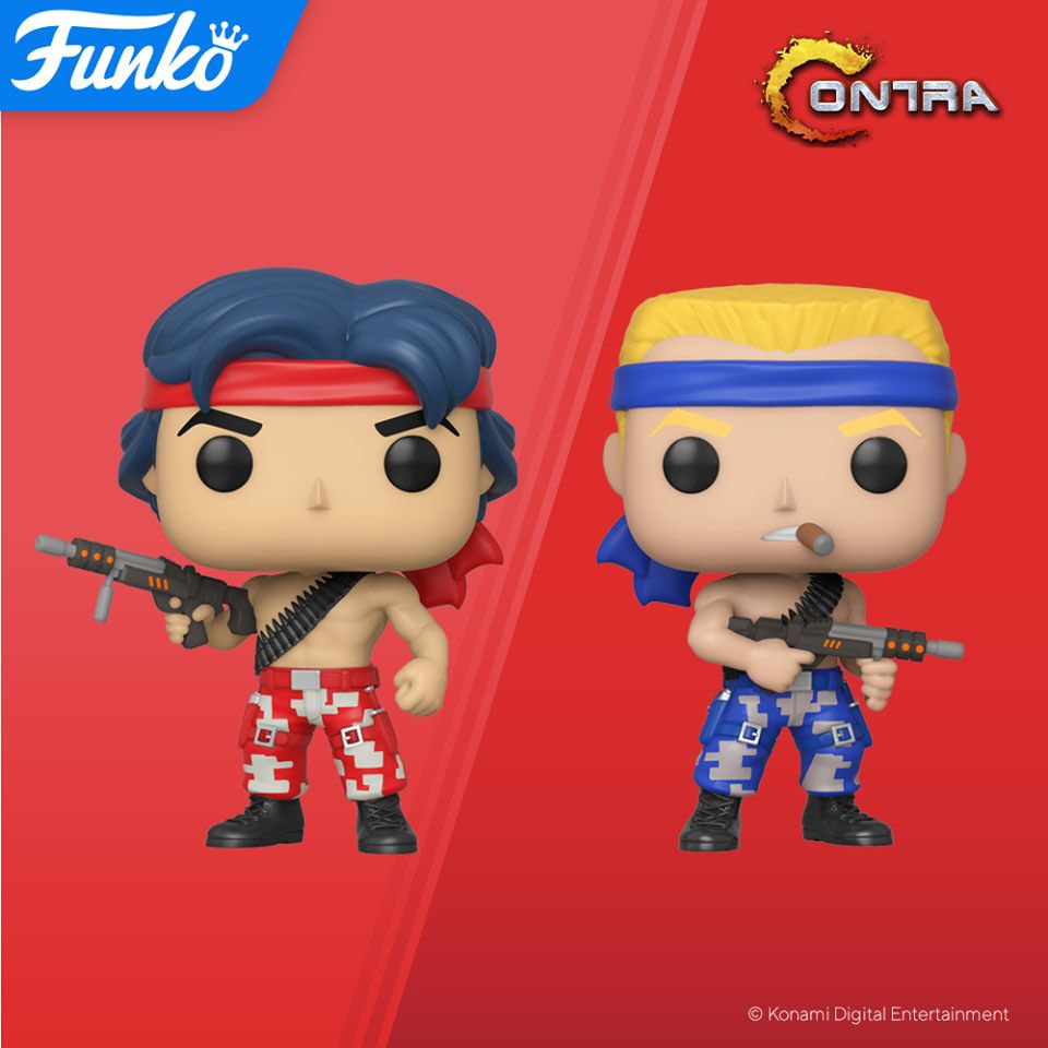 Funko is Bringing the 80's Back to Life with Contra Pops!