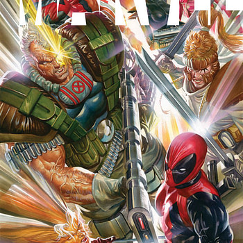 Alex Ross Does Rob Liefeld - And What He Said About Him Befre....