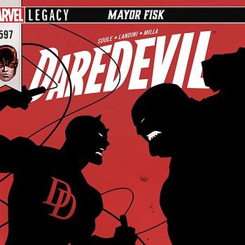 Daredevil #597 cover by Dan Mora and Romulo Fajardo