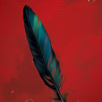 Saga #54 cover by Fiona Staples