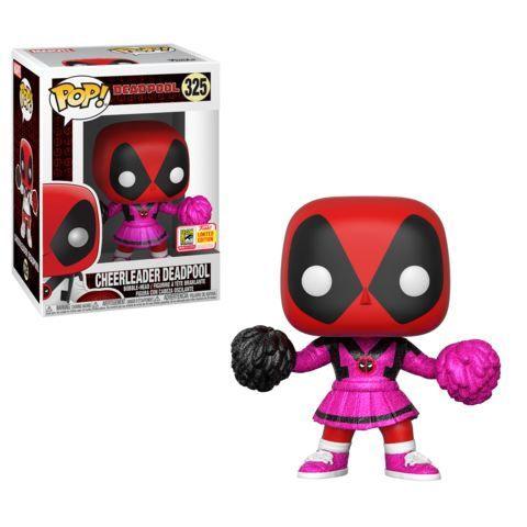 Funko SDCC Exclusive Marvel Cheerleader Deadpool Pop