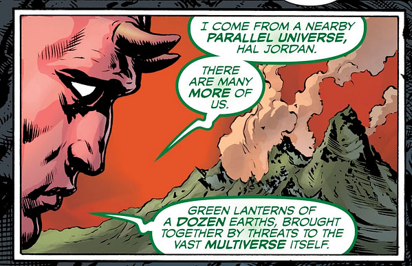 Could Immortal Hulk and The Green Lantern Be Backing Into a DC/Marvel Crossover