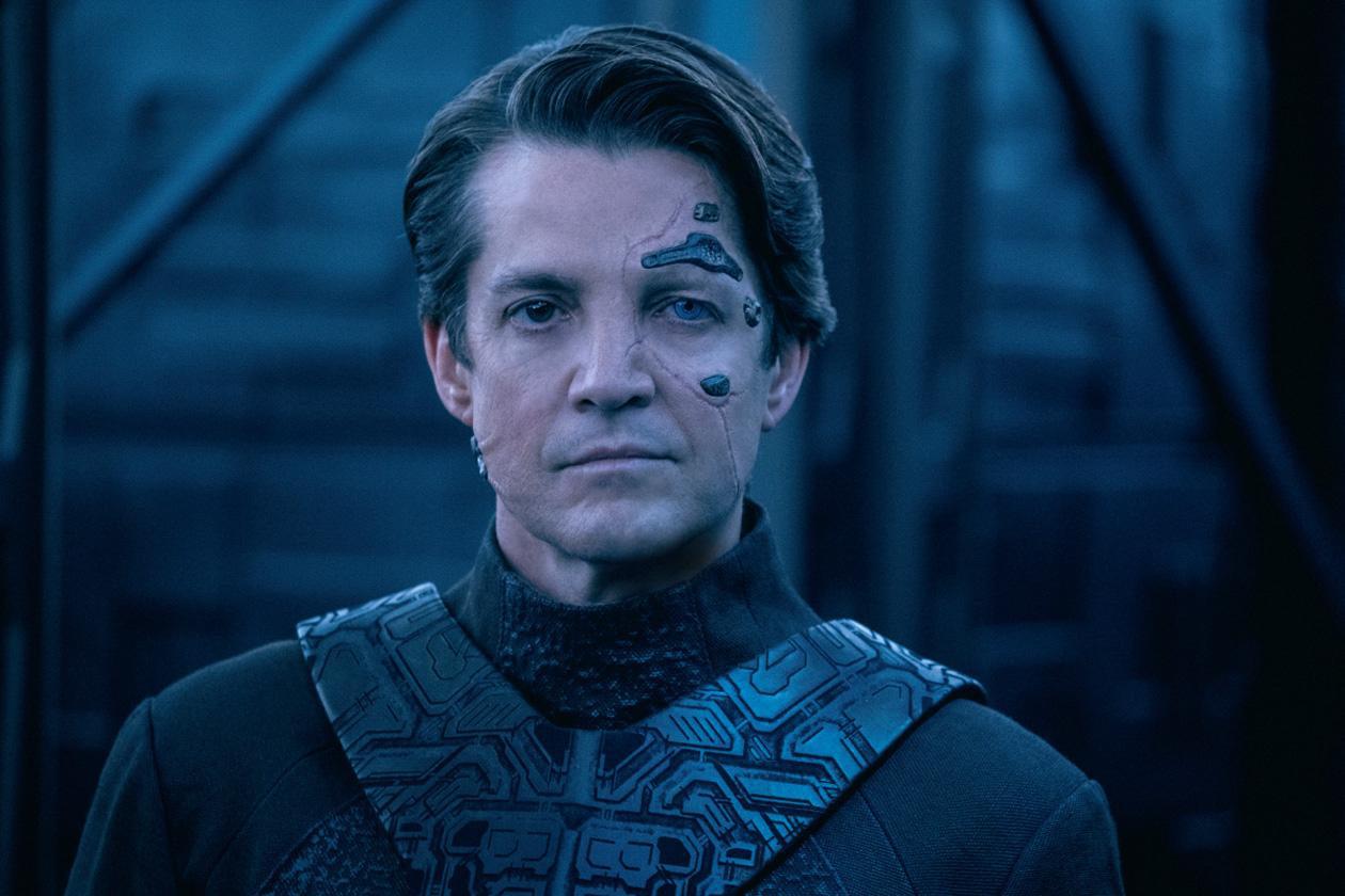 Jonatha Del Arco as Hugh in Star Trek