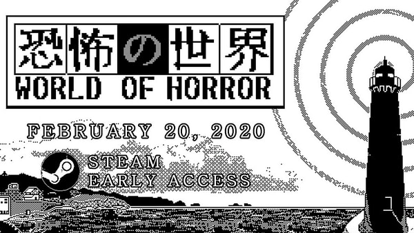 """""""World Of Horror"""" Finally Comes To Early Access In February 2020"""