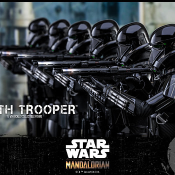 """The Mandalorian"" Death Trooper Gets His Own Hot Toys Figure"