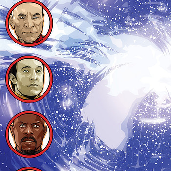 'Star Trek: The Q Conflict' #4: Q Messes with the Wrong Wormhole (REVIEW)