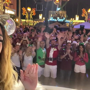 Enjoy the splendor of a Disney Park Christmas parade Christmas Morning on ABC!