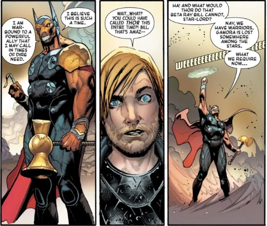 No One Stays Dead Anymore - Guardians of the Galaxy #5 Preview