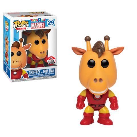 Funko Ad Icons Geoffery as Iron Man Pop