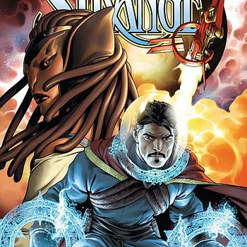 Doctor Strange #1 cover by Jesus Saiz