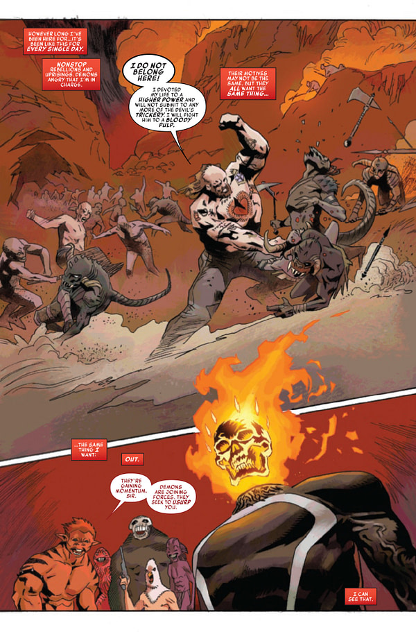 Spirit of Ghost Rider: Mother of Demons #1 [Preview]