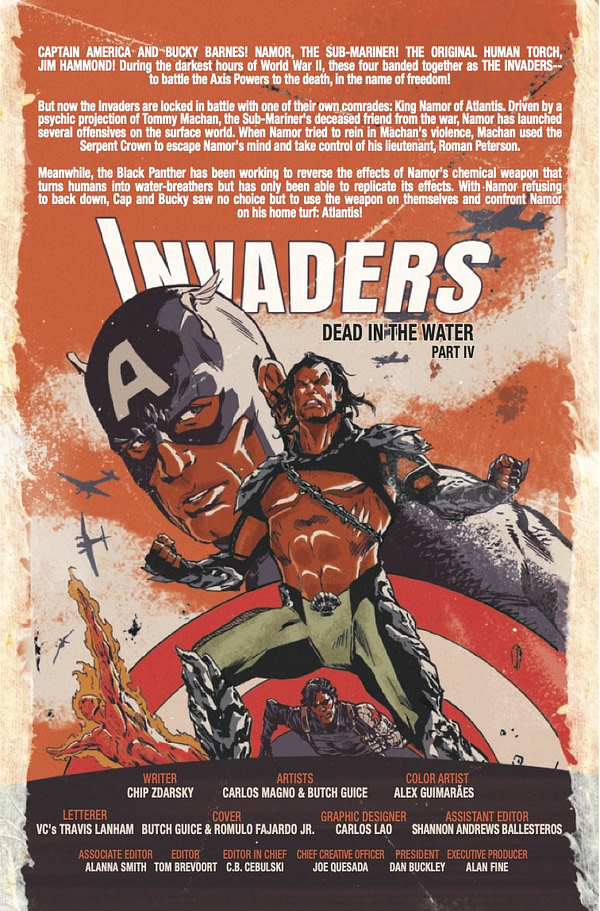 Invaders #10 [Preview]