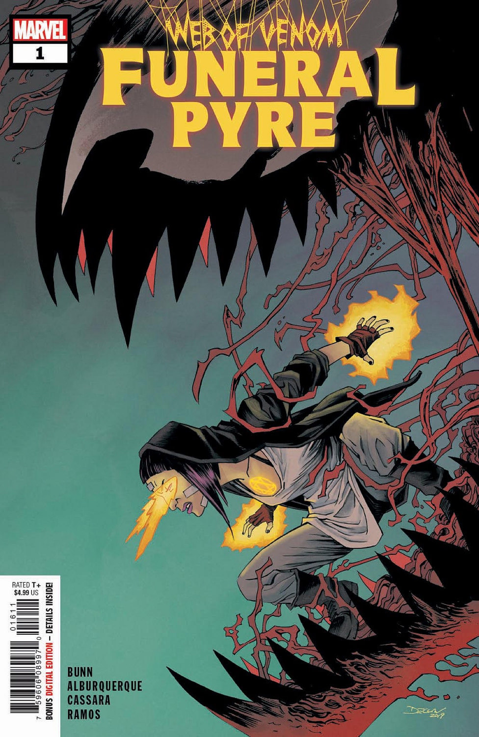 The First Death of Absolute Carnage in Web of Venom: Funeral Pyre #1 First Look