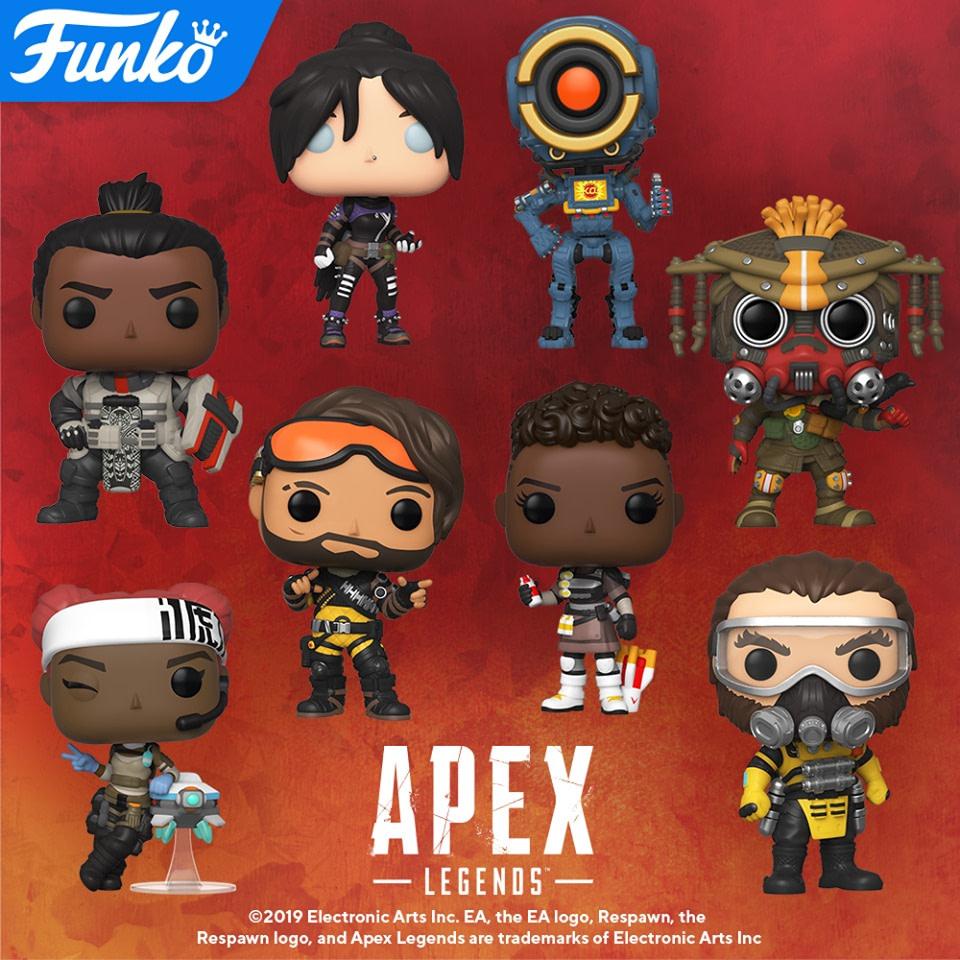 Apex Legends Enter the Arena of the Funko Pop Battle Royale