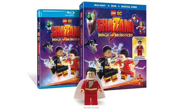 LEGO DC Shazam Hits Blur-ray le 16 juin.