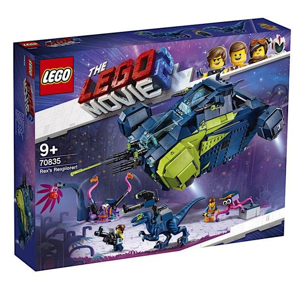 LEGO Movie 2 Rexs Rexplorer 1