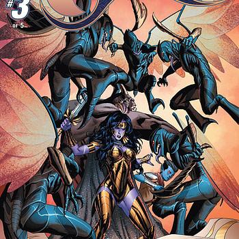 Jirni Vol. 3 #3 cover by Michael Sta. Maria