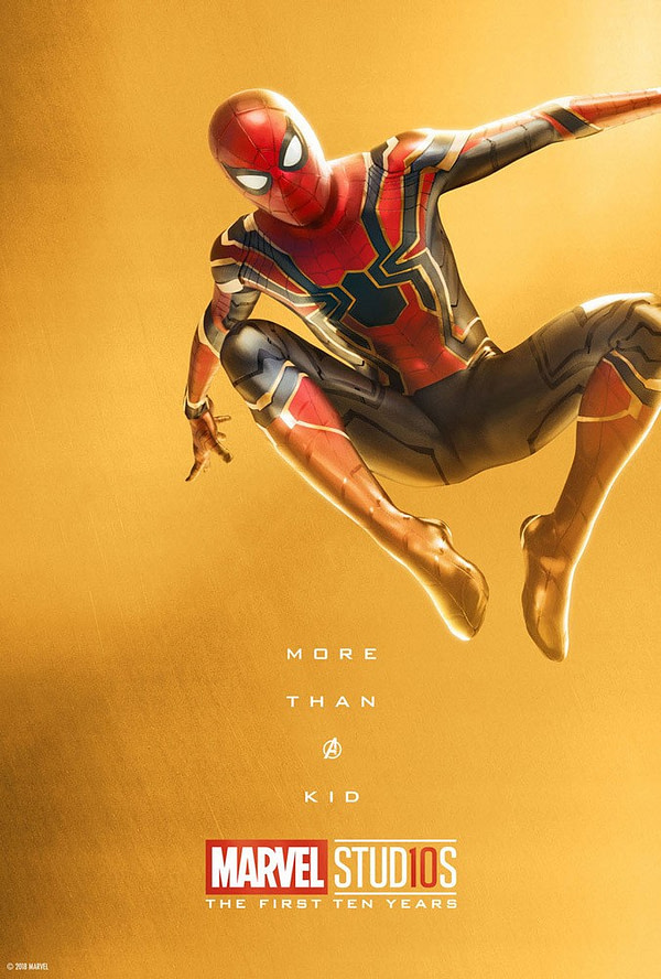 Marvel Studios More Than A Hero Poster Series Spider Man