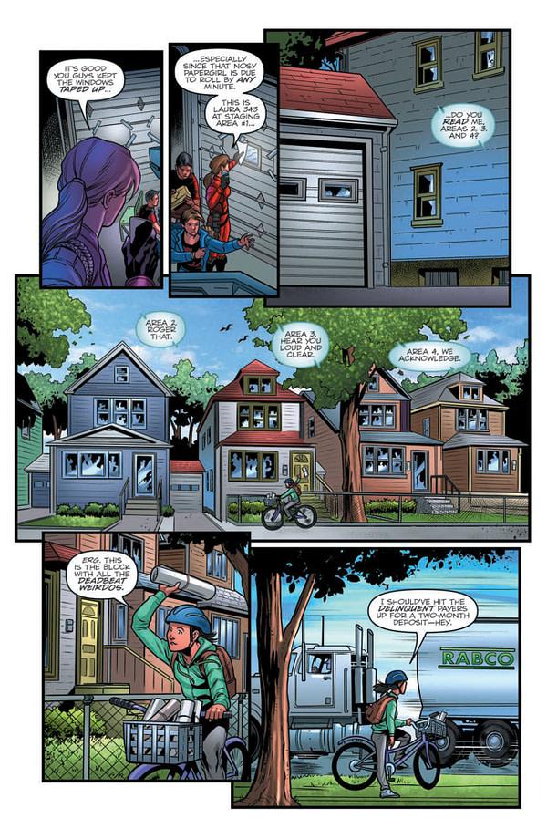 Cobra vs. Paper Girls in GI Joe: Real American Hero #267 [Preview]