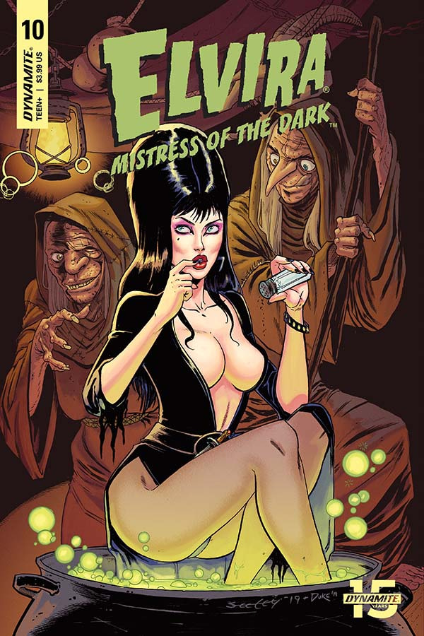 David Avallone's Writer's Commentary on Elvira: Mistress Of The Dark #10
